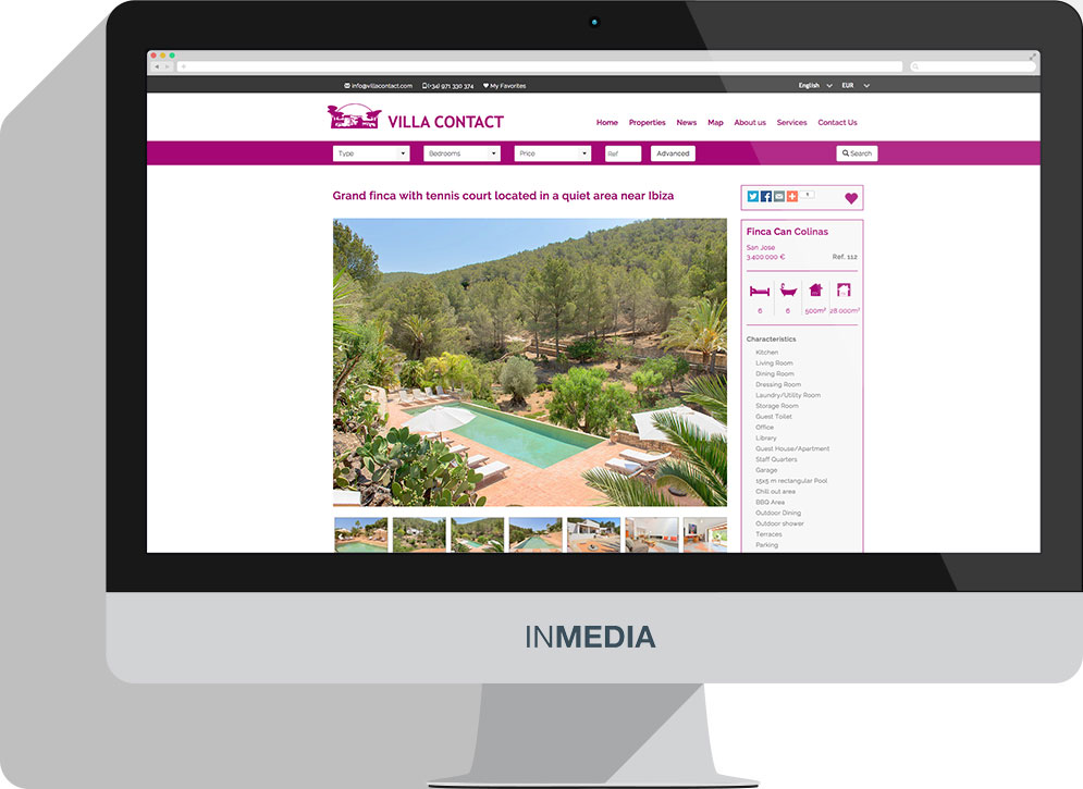 Villa Contact Real Estate Ibiza